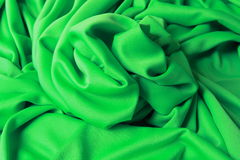 Green material. Abstract painting with light, a green plastic material Royalty Free Stock Images