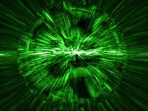 Green matrix Stock Photos