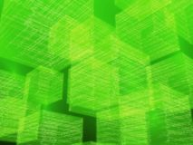 Green matrix Stock Image