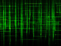 Green matrix background Royalty Free Stock Images