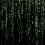 Green matrix background royalty free stock image