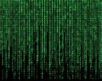 Green matrix Stock Images