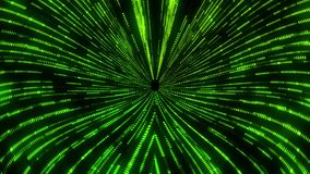 Green Matrix Wormhole Vortex Tunnel VJ Loop Motion Background. Abstract Sci-Fi Green Matrix Wormhole Vortex Tunnel VJ Loop Motion Background Backdrop stock video