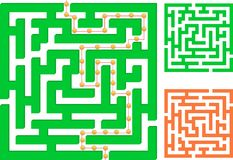 Green maze Royalty Free Stock Photo