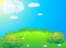Green meadow Stock Photos