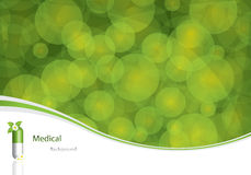 Green medical background Royalty Free Stock Images