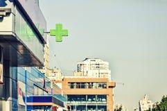 Medical Cross, Pharmacy, Sign, Green, Cross, Symbol ...