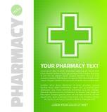 Green medical design Royalty Free Stock Image