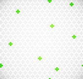 Green medical pattern Royalty Free Stock Photos