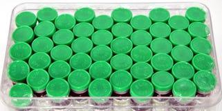 Green medicine cap Royalty Free Stock Image