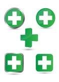 Green medicine royalty free illustration