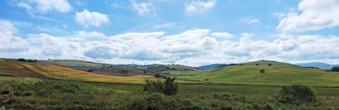 Green Mediterranean Hills Stock Images
