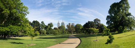 Green melbourne Royalty Free Stock Photography