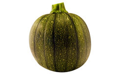 Green melon. Isolated with clipping path Royalty Free Stock Photos