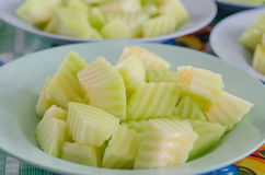 Green melon Stock Images