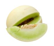 Green melon Stock Photo