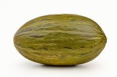 Green melon isolated Stock Photo