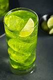 Green Melon Japanese HIghball Royalty Free Stock Image