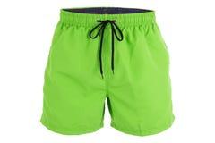 Free Green Men Shorts For Swimming Stock Photos - 92464143