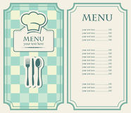 Green menu Royalty Free Stock Images