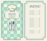 Green menu Royalty Free Stock Images