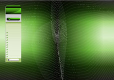 Green Menu Background Stock Photos