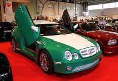 Green Mercedes-Benz E-class Stock Images