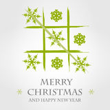 Green merry christmas template 4. Merry christmas template. merry christmas concept Royalty Free Stock Image
