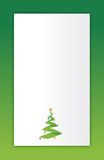 Green Merry christmas tree Stock Photo