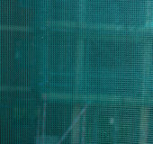 Green mesh gauze texture Stock Photos