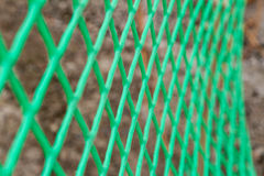 Green mesh netting Royalty Free Stock Images