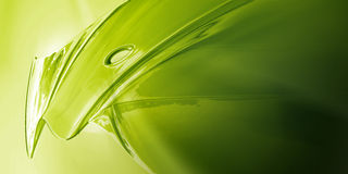 Green Metal. Surface Detail of Green Metal Object Royalty Free Stock Photos