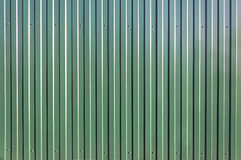 Green metal container background texture Royalty Free Stock Photo