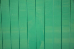 Green Metal fence Royalty Free Stock Image