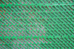 Green Metal fence Stock Photography