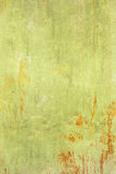 Green metal grunge texture background. Grunge texture of green rusty metal with scratches Royalty Free Stock Image