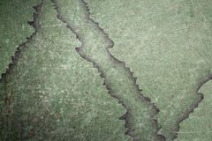Green metal grungy surface Stock Image