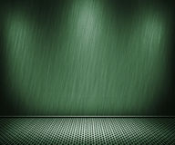 Green Metal Interior Background Royalty Free Stock Photos