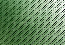 Green metal plate surface. Stock Photography