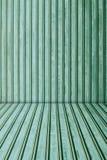 Green metal sheet background. Royalty Free Stock Photos