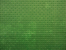 Green metal sheet texture. High resolution background. Royalty Free Stock Photos