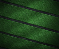 Green Metal Strips Texture Stock Photo