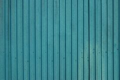 Green metal surface. With vertical lines, background Royalty Free Stock Photography
