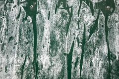 Green metal surface Stock Image