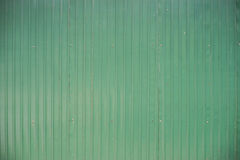 Green metal zinc sheet wall background texture Royalty Free Stock Images