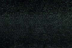 Green metallic mesh background texture Stock Photography