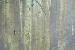 Green metallic surface Stock Photos