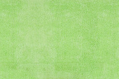 Green microfiber texture Royalty Free Stock Images