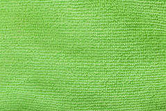 Green microfiber Stock Images