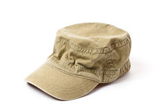 Green military cap Royalty Free Stock Image